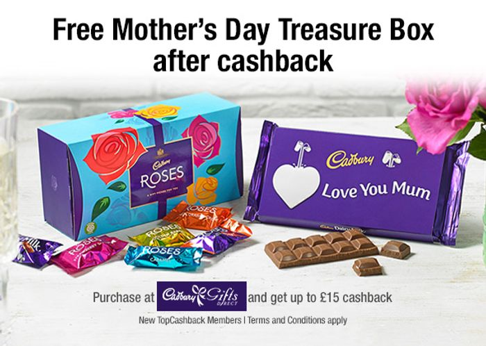 Free Cadbury Roses - Account Specific