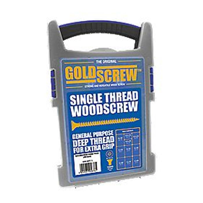 Pack of 1000 Mixed Woodscrews in Handy Container £9.99 at Screwfix