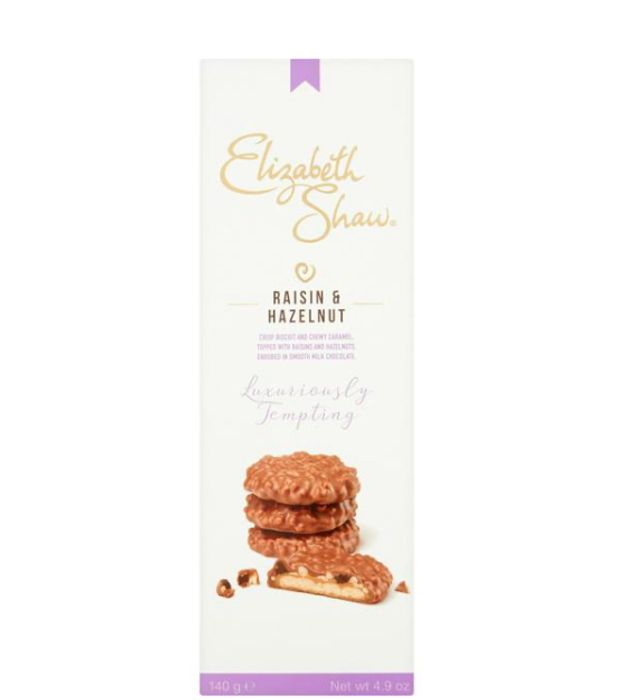 Free Elizabeth Shaw Biscuits with your shop