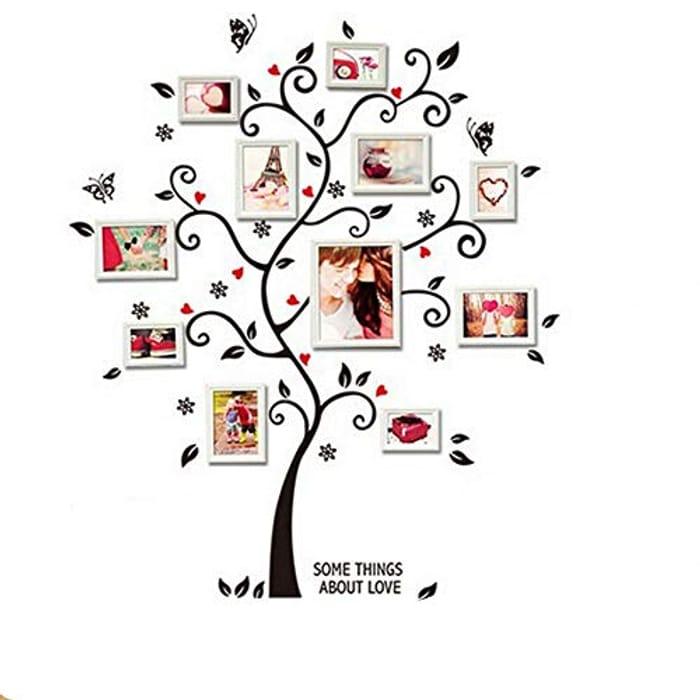 Family Tree Wall Vinyl Sticker