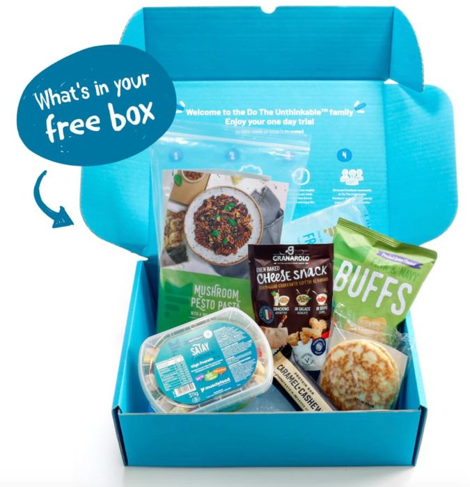 Free Food Box (3 Meals & 3 Snacks) Worth £13.70!