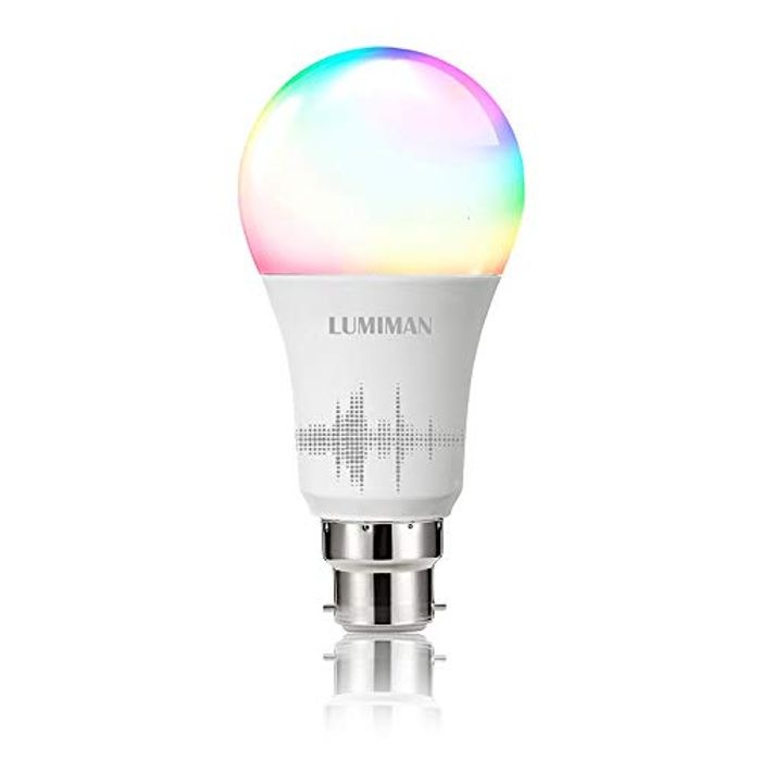 B22 Lumiman Smart Bulb - Alexa Compatible!