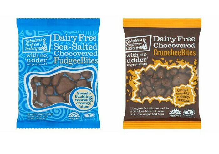 Fabulous Freefrom Factory Dairy Free Bites (Sea Salt or Crunchee)