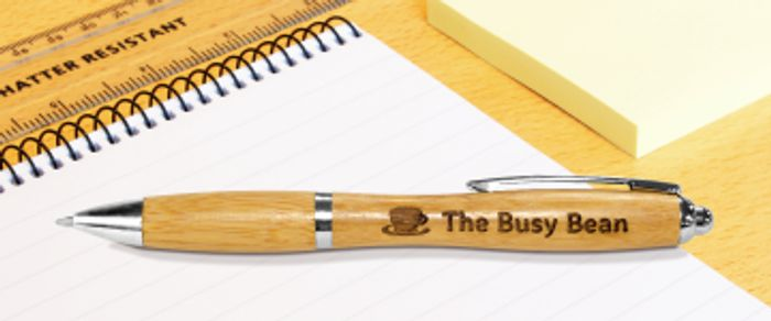 Free Printed & Engraved Pens