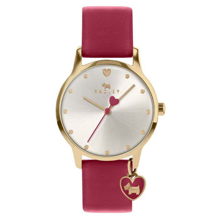 *SAVE £55* Radley London Ladies' Red Leather Strap Watch