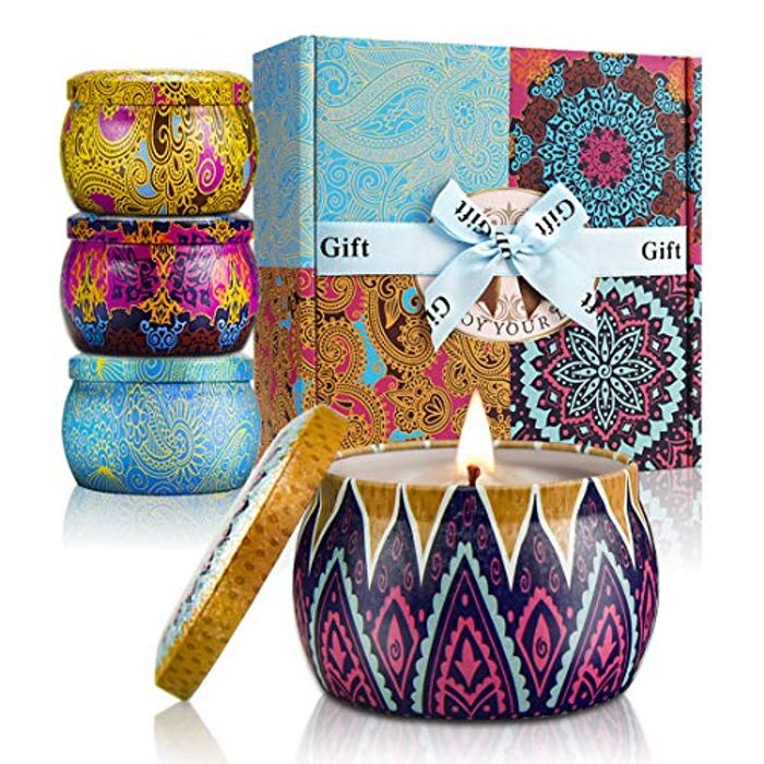 YMing Scented Candles Gift Set of 4