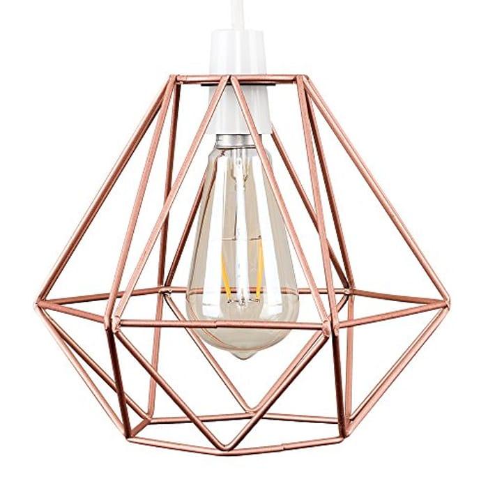 Retro Style Copper Pendant Light Shade