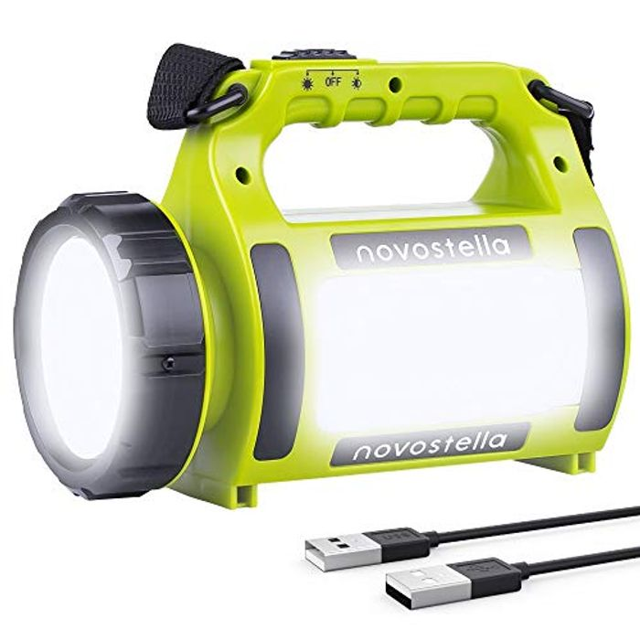 NOVOSTELLA Rechargeable CREE LED Torch