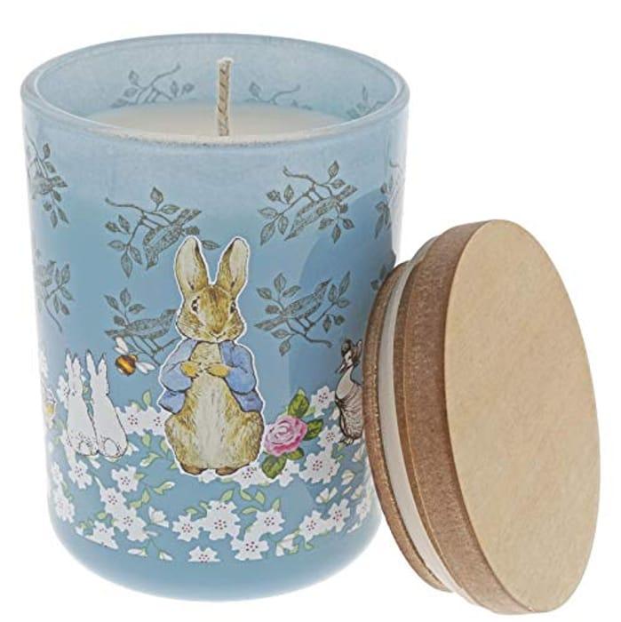 Beatrix Potter Peter Rabbit Candle