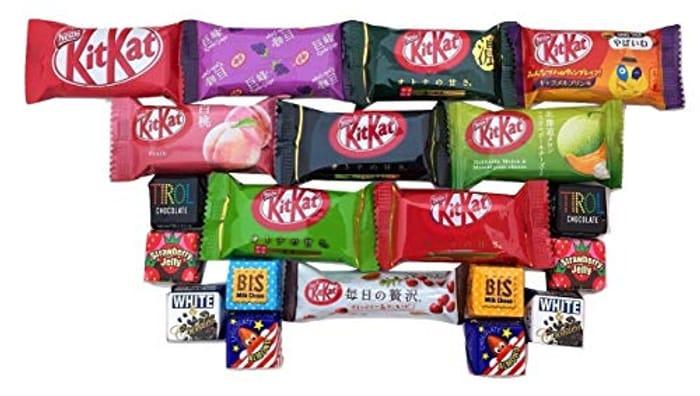 20 Japanese Kit Kat & Tirol Chocolate Gift Box Japanese Candy FREE DELIVERY
