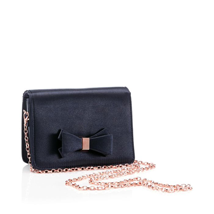 Debut Navy Bow Cross Bag Down From £24 to £12