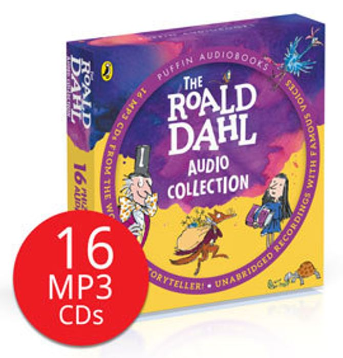 The Roald Dahl Audio Collection - 16 MP3 CDs - Save £90