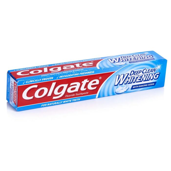 Colgate Deep Clean White with Baking Soda Toothpaste 75ml