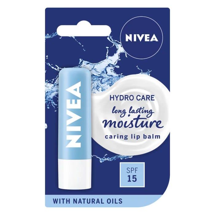 Nivea Hydro Care Lip Balm SPF15 4.8g