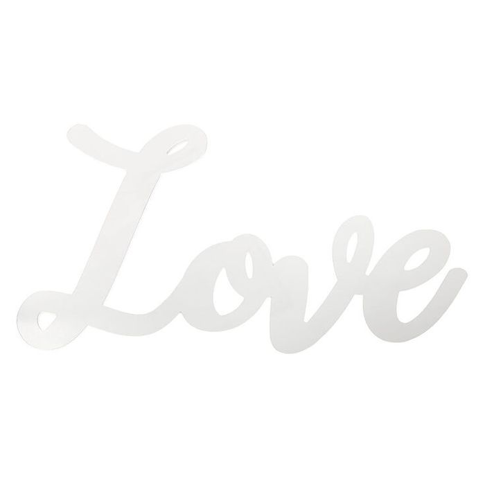 Love Script Mirror Wall Art - Save 71%