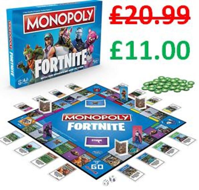 Monopoly: Fortnite Edition Board Game (Hasbro)