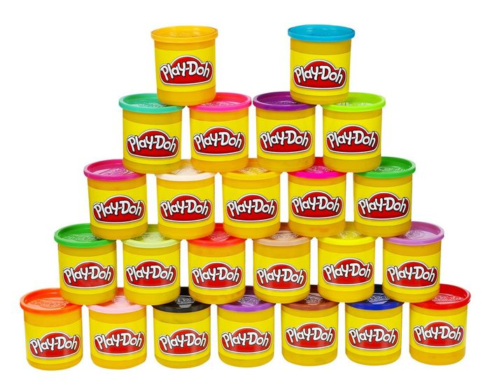 Hasbro PLAY-DOH Tubs, Pack of 24