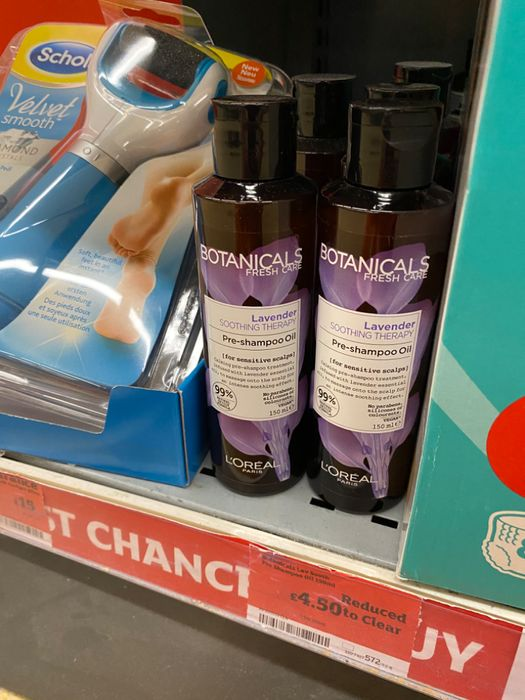 Botanicals Lavender Shampoo Oil