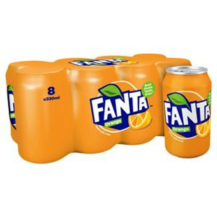 Fanta Orange 8x330ml