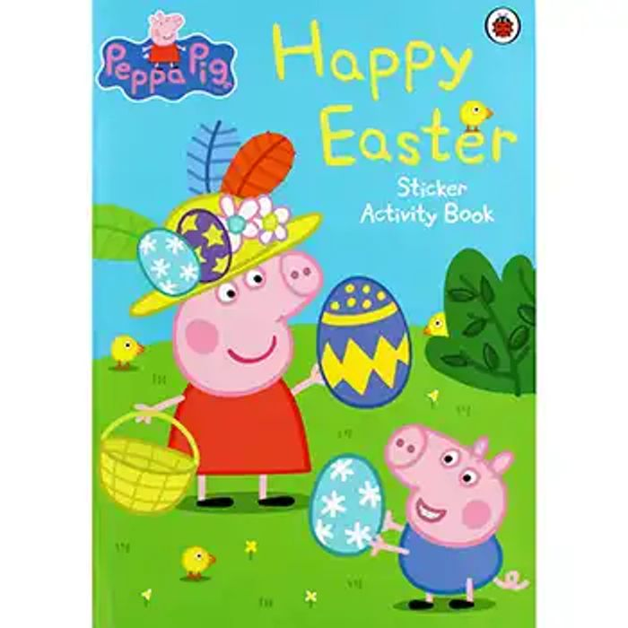 Best Price! Peppa Pig - Happy Easter Sticker Activity Book