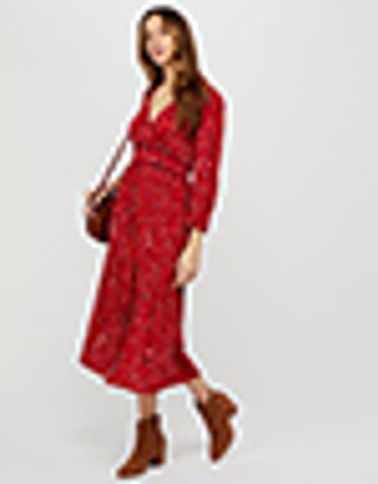 50% Off Star Print Midi Dress at Monsoon