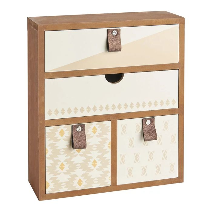 Wilko Patterned Desk Drawers