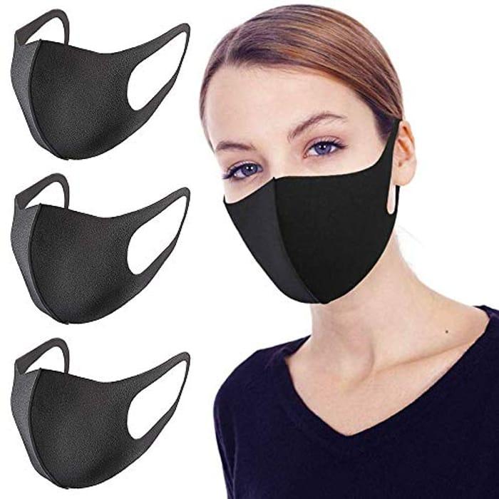 Reusable Face Mouth Mask (3Pcs)