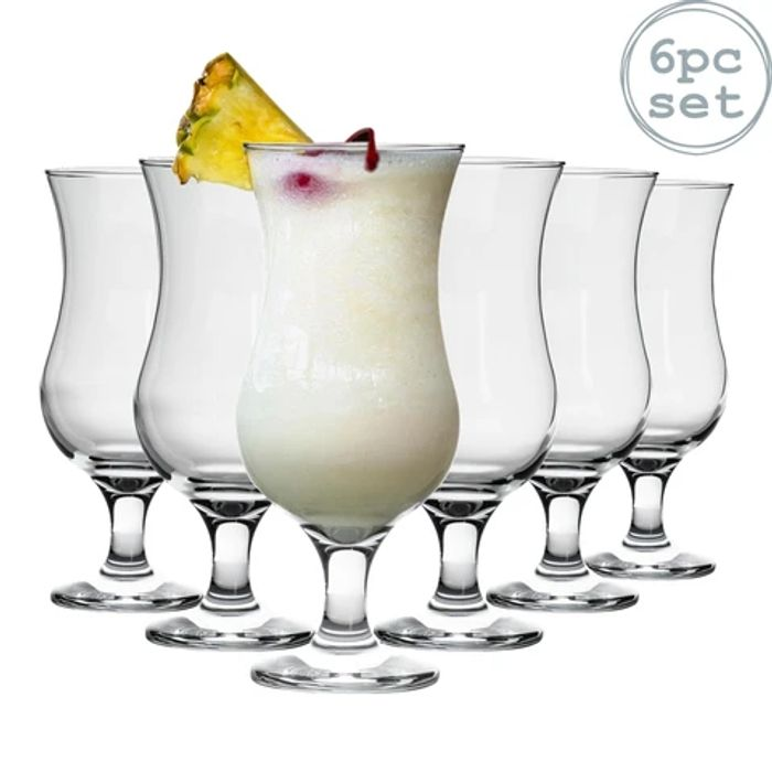Pina Colada Cocktail Glasses - 460ml - Set of 6