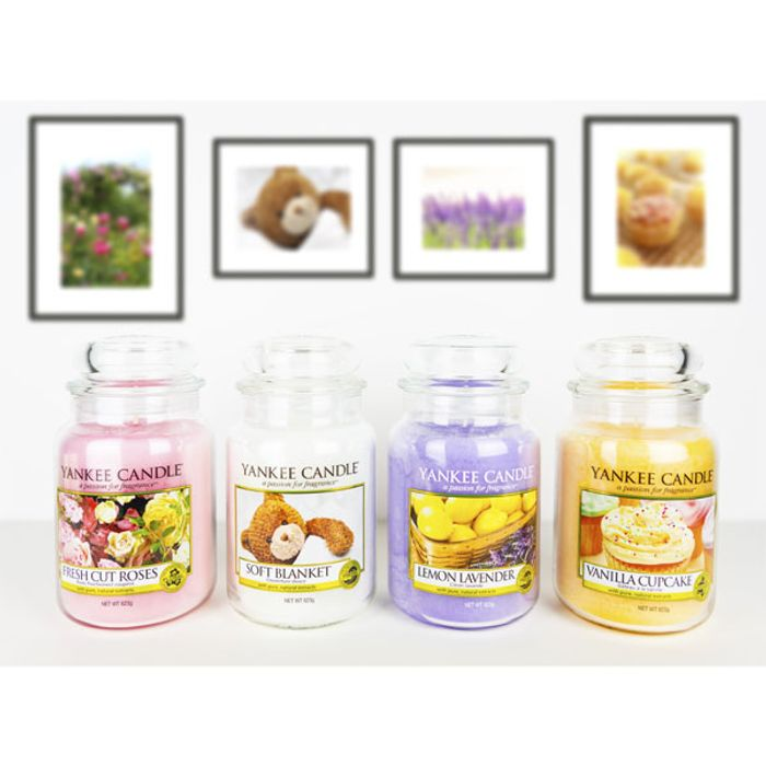 Cheap 4 X Classic Yankee Candle Signature 623g Large Jars - Save £45.96!