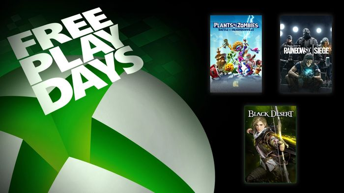 Free Play Days Tom Clancys Rainbow Six Siege, Plants vs. Zombies