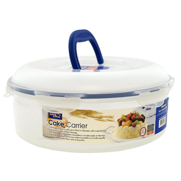 Lock & Lock round Cake Box