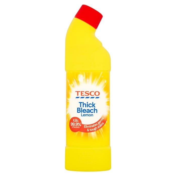 Tesco Thick Bleach Citrus 750Ml