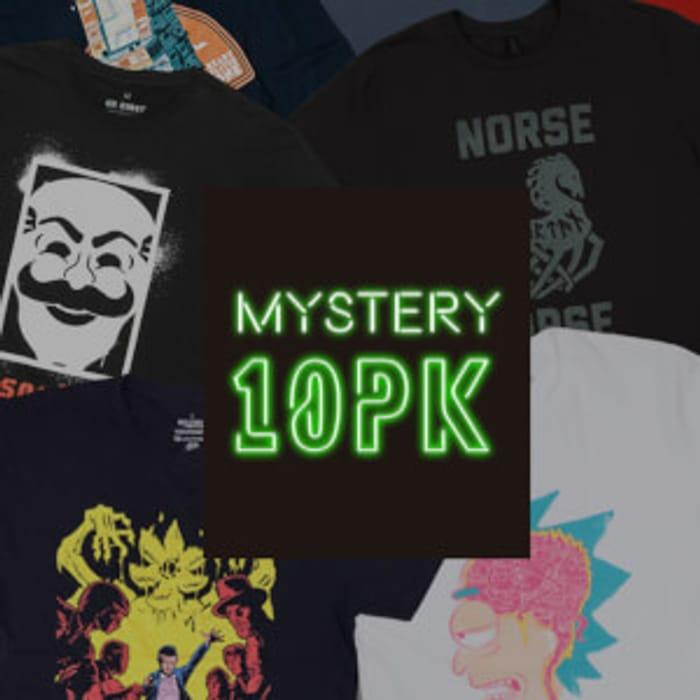 Mystery Geek T-Shirt - 10-Pack