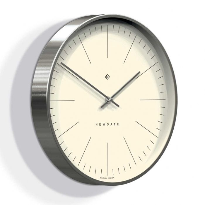 Oslo Silver Wall Clock Save £20