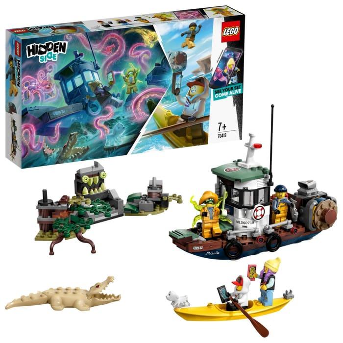 LEGO Hidden Side - Wrecked Shrimp Boat (70419)