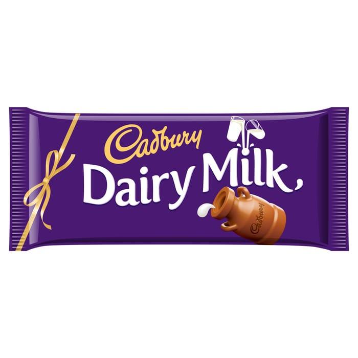 Cadbury Dairy Milk Chocolate Bar 360G
