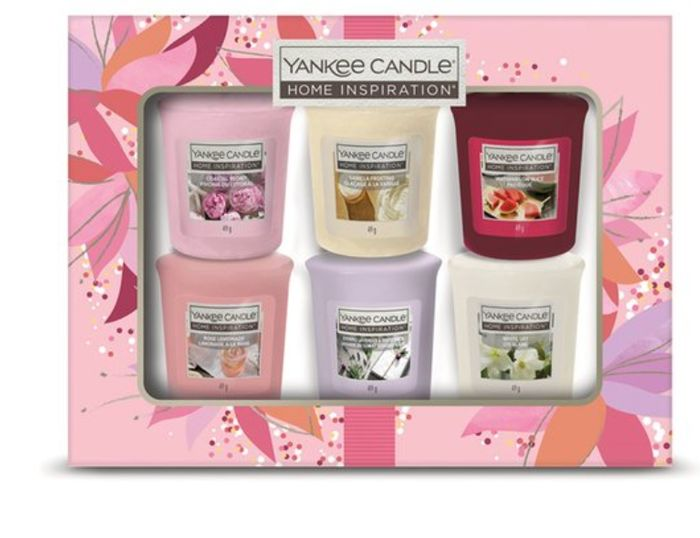 Exclusive To Tesco Yankee Candle 6 Votive Gift Set *Up To 15 Hour Burn Time Each