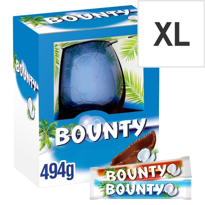 Bounty Chocolate Egg 494g
