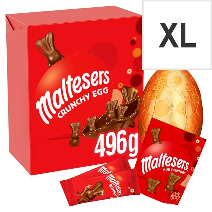 Tesco Malteaster Giant Egg 496g