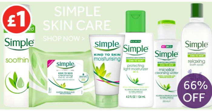 A SIMPLE HEADING! 66% OFF SIMPLE!
