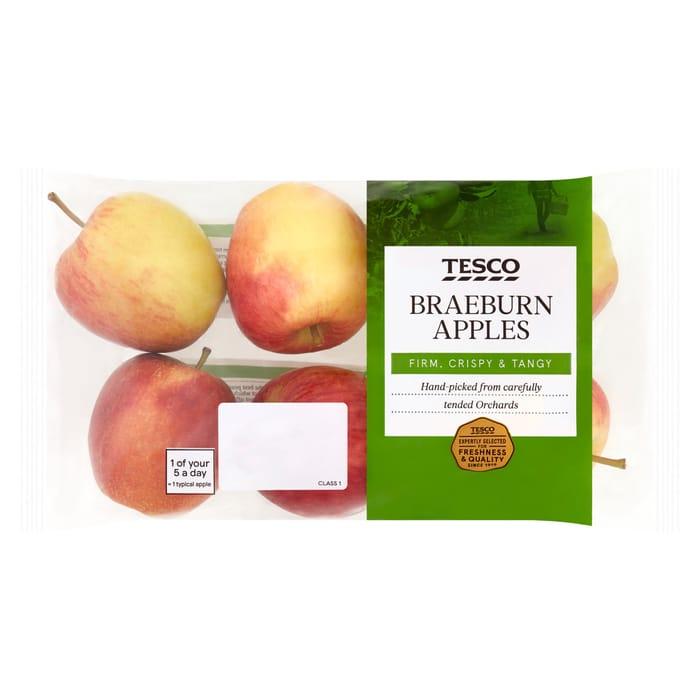 Tesco Braeburn Apple Minimum 5 Pack