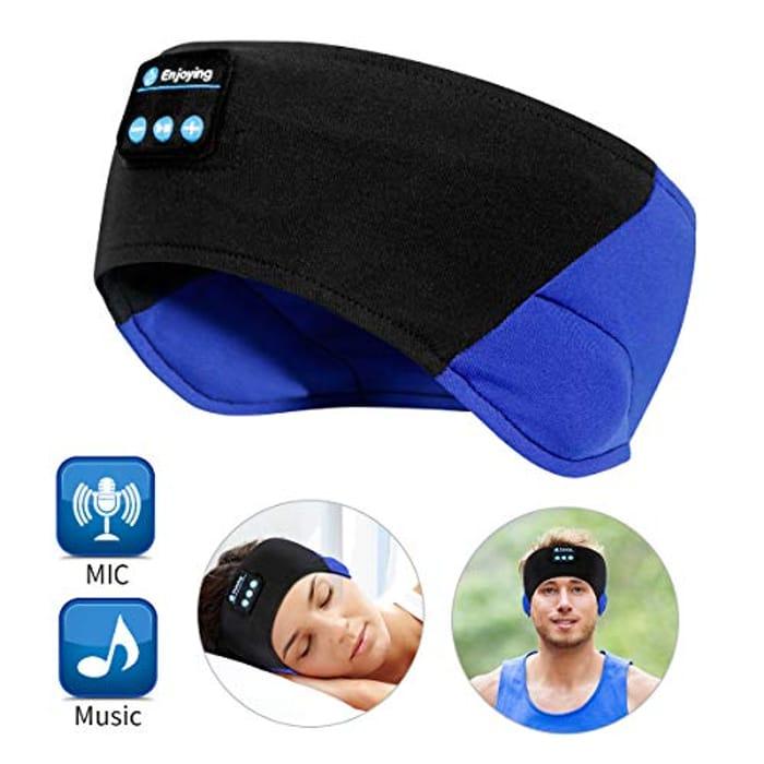 WU-MINGLU Bluetooth Headband Sleep Headphones, Wireless Music Sport