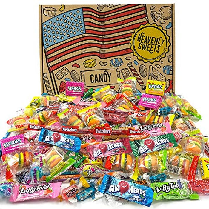 Heavenly Sweets American Sweets Selection Party Mix - Assortment of 120+