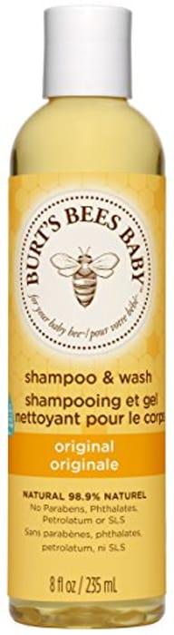 Burt's Bees Baby Shampoo and Wash, Natural, Tear Free Baby Wash