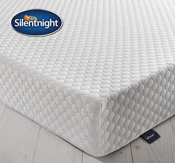 Silentnight 7 Zone Memory Foam Rolled Mattress, Made in the UK, Medium