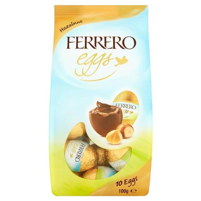 Ferrero Hazelnut Eggs X10 100g