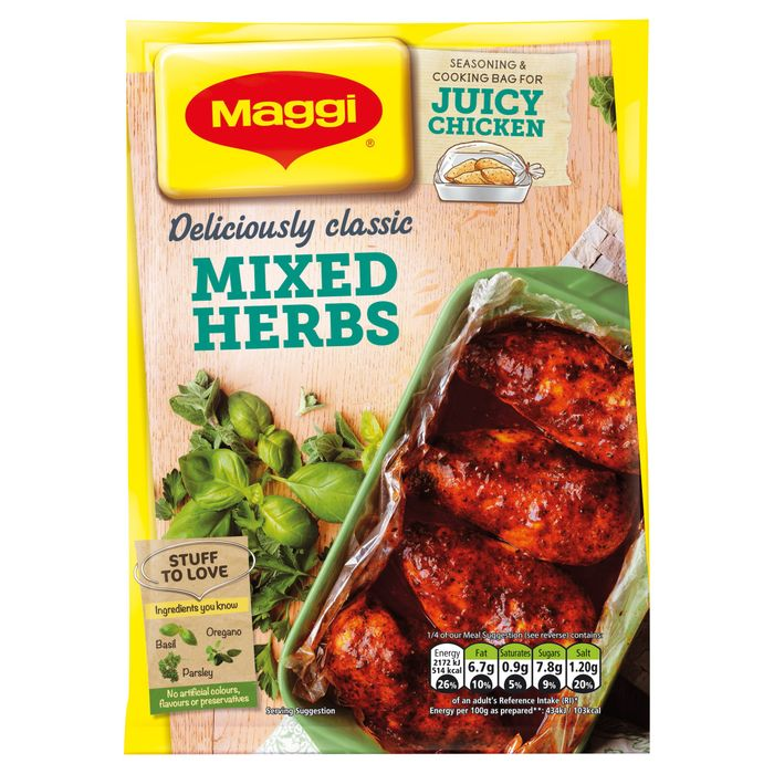Maggi Juicy Mixed Herbs 30G