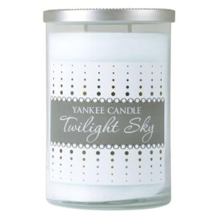 Best Price! Yankee Candle Tumbler Twilight Sky Large Tumbler- White