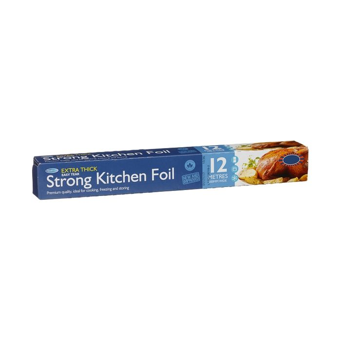 Extra Thick Easy Tear Kitchen Foil 12m