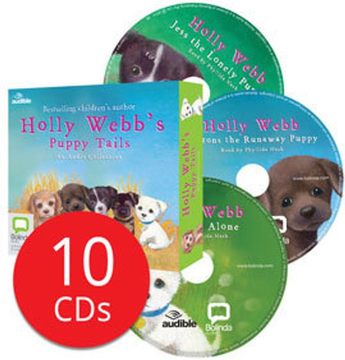 Holly Webb's Puppy Tails Audio Collection - 10 CD's
